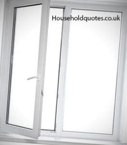 White UPVC Double Glazing Window