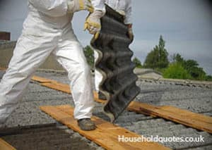 asbestos removal by professionals