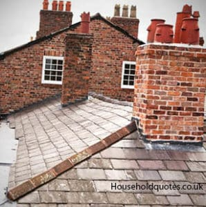 Brick and slate chimneyCost of Removing a Chimney. Living Room Chimney Removal. Home Design Ideas