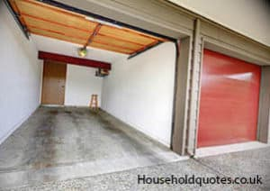 Great Garage Conversion For Two Cars