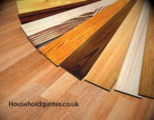 wooden flooring with different colors