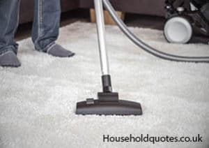 carpet cleaning by vacuum cleaner