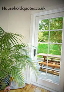 How much to turn a window into patio doors uk