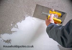 Plastering and Rendering concrete wall