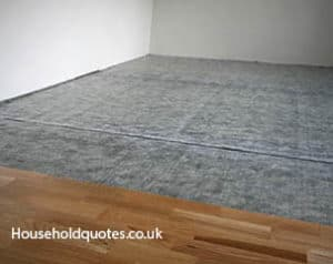 Soundproofing Wooden Laminated Floor