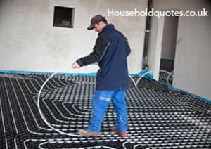 How much for underfloor heating - How do heated bathroom floors work ...