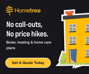 HomeTree Boiler Care Plans From 43p per Day