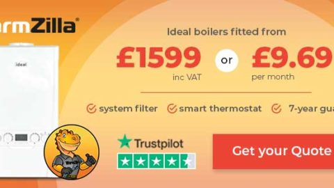 Get A New Ideal Boiler From £1599 or £9.69/Month