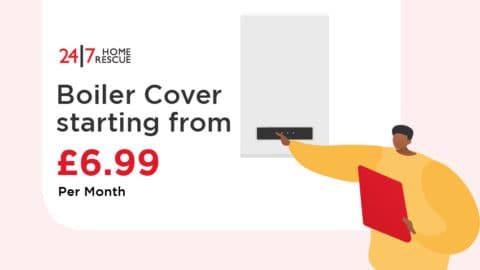 24|7 Home Rescue Boiler Cover From £6.99 per Month