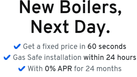 Get A New Boiler, Next Day For A Fixed Price