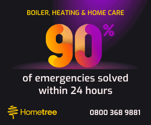 Hometree Insurance Boiler Cover Plans From 40p per Day